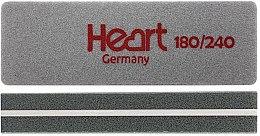 Духи, Парфюмерия, косметика Шлифовщик для ногтей Heart Mini 180/240, прямоугольный - Heart Germany
