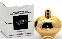 Духи, Парфюмерия, косметика La Perla Divina Gold Edition - Туалетная вода (тестер без крышечки)