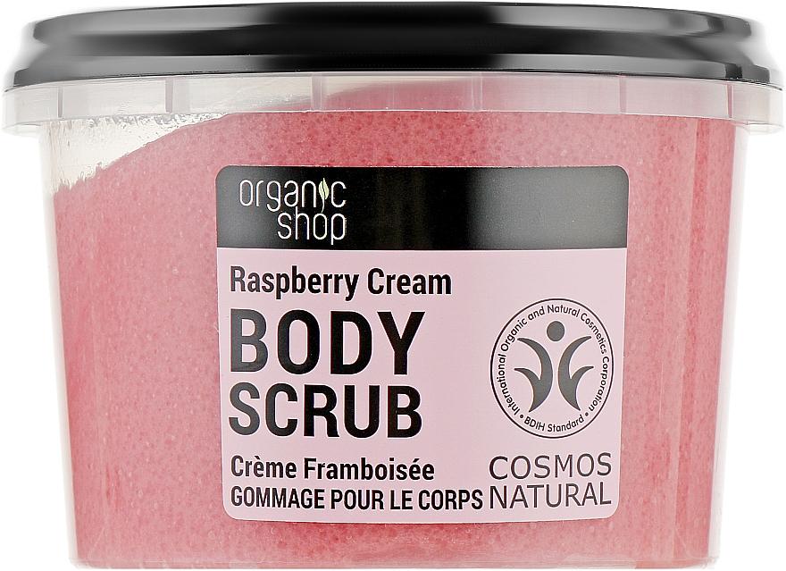"Скраб для тела ""Малиновые сливки"" - Organic Shop Body Scrub Organic Raspberry & Sugar"