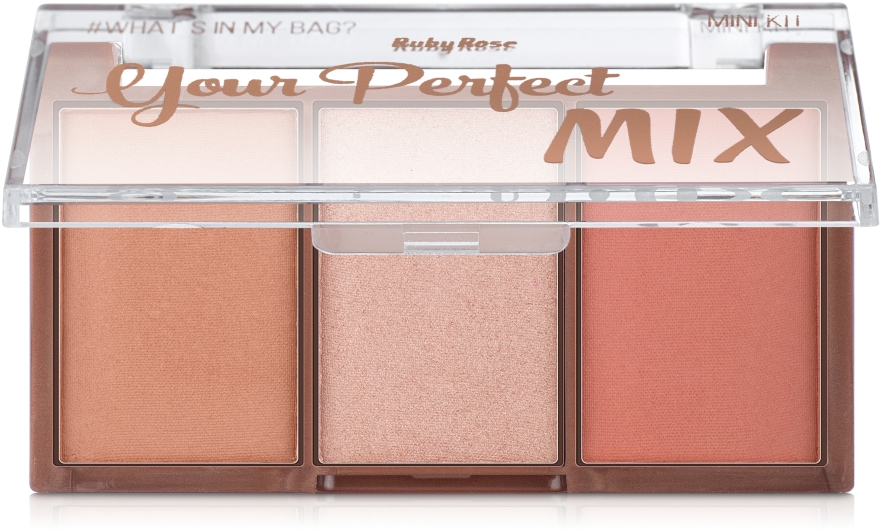 Палетка для макияжа, HB-6110 - Ruby Rose Mini Kit