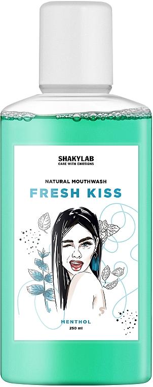 """Ополаскиватель для полости рта противокариозный """"Fresh Kiss"""" - SHAKYLAB Natural Mouthwash Anti-Carious"""