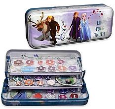 Духи, Парфюмерия, косметика Косметический набор в пенале, 3 уровня - Markwins Frozen Live Your Truth