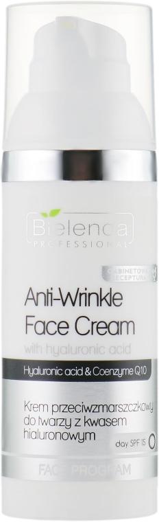 Антивозрастной крем с гиалуроновой кислотой - Bielenda Professional Anti-Wrinkle Face Cream