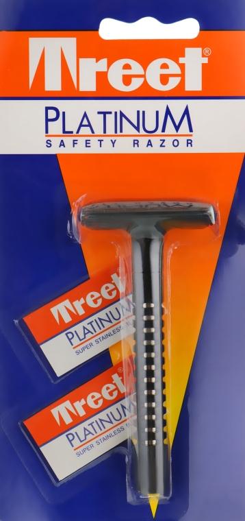 Мужской бритвенный станок для бритья - Treet Platinum Safety Razor