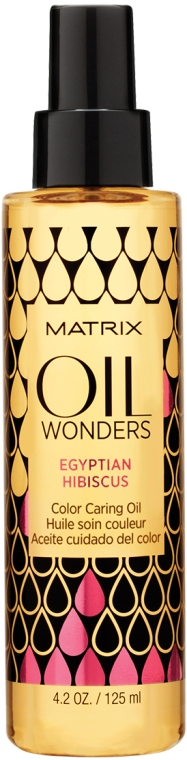 Масло для окрашенных волос Египетский Гибискус - Matrix Oil Wonders Egyptian Hibiscus Color Caring Oil