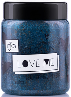 "Гель-скраб ""Love Me"" - inJoy Color Line Love Me"
