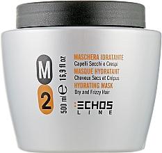 Парфумерія, косметика Маска для сухого і неслухняного волосся - Echosline M2 Hydrating Mask