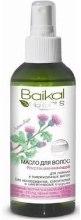 Духи, Парфюмерия, косметика Масло для волос восстанавливающее для ломких и поврежденных волос - Baikal Herbals