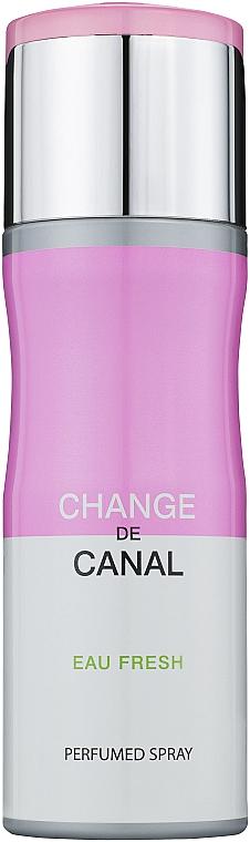 Fragrance World Change de Canal Eau Fresh - Дезодорант-спрей