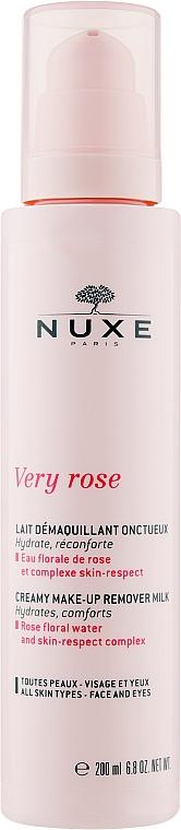 Деликатное молочко для снятия макияжа - Nuxe Very Rose Creamy Make-up Remover Milk