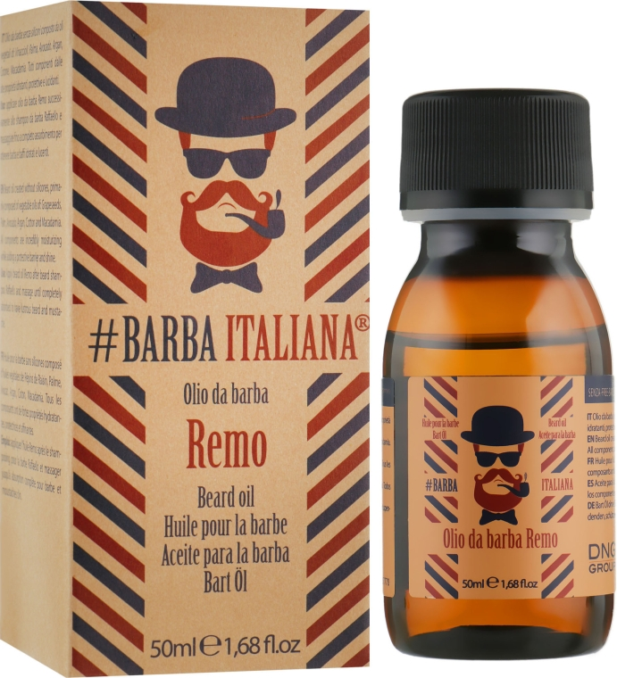 Масло для бороды - Barba Italiana Remo Beard Oil