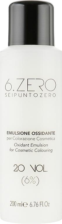 Окислительная эмульсия - Seipuntozero Scented Oxidant Emulsion 20 Volumes 6%