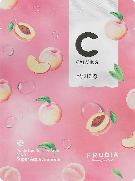 Успокаивающая тканевая маска с экстрактом персика - Frudia My Orchard Squeeze Mask Peach