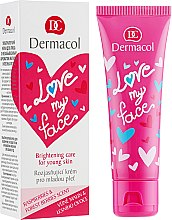 Духи, Парфюмерия, косметика Крем-сорбет восстанавливающий и придающий сияние коже лица - Dermacol Love My Face Moisturizing Care For Young Skin