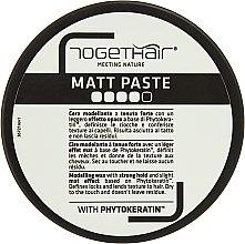 Духи, Парфюмерия, косметика Воск для укладки волос с матирующим эффектом - Togethair Matt Paste