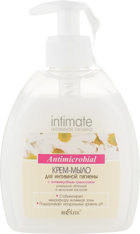 Крем-мыло для интимной гигиены с антимикробным триклозаном - Bielita Body Care