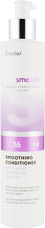 Кондиционер для выпрямления волос - Erayba Bio Smooth Smoothing Conditioner BS16