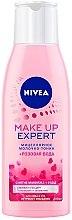 Духи, Парфюмерия, косметика Мицеллярное молочко-тоник + розовая вода - Nivea Make-up Expert