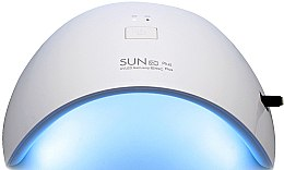 Духи, Парфюмерия, косметика Лампа UV/LED белая с розовым - Sun LED+UV Lamp 9C Plus 36W