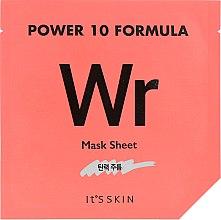 Духи, Парфюмерия, косметика Тканевая маска, лифтинг - It's Skin Power 10 Formula Mask Sheet WR