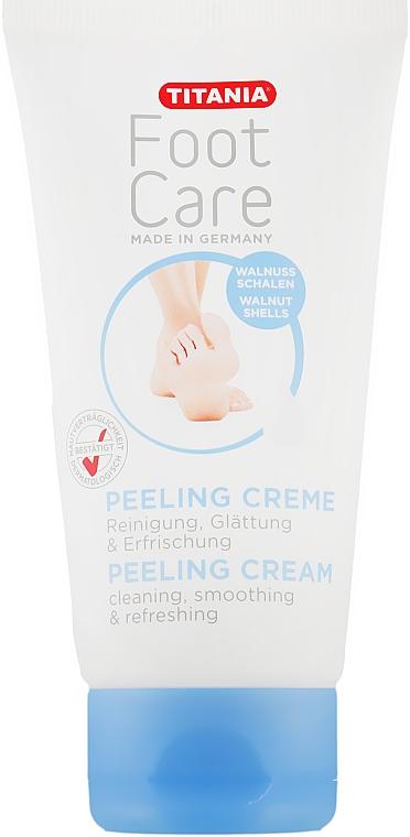 Отшелушиваюший крем для ног - Titania Peeling Cream