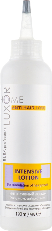 Интенсивный лосьон стимулирующий рост волос - Elea Professional Luxor Home