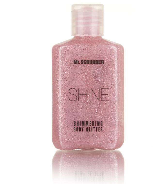 Сияющий глиттер для тела, розовый - Mr.Scrubber Shine Shimmering Body Glitter