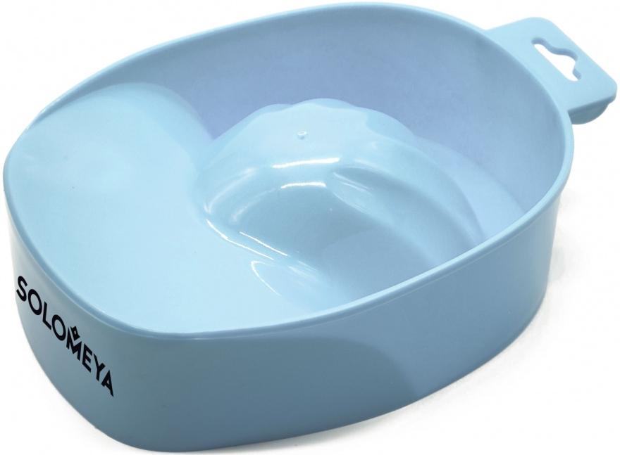 "Ванночка для маникюра ""Голубое небо"" - Solomeya Manicure bowl ""Blue Sky"""