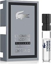 Духи, Парфюмерия, косметика Lacoste L'Homme Timeless - Туалетная вода (пробник)