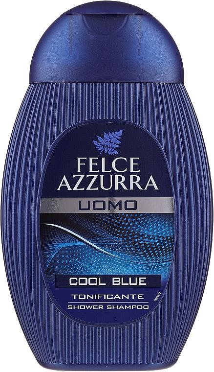 """Шампунь и гель для душа """"Cool Blue"""" - Felce Azzurra Shampoo And Shower Gel For Man — фото N5"""