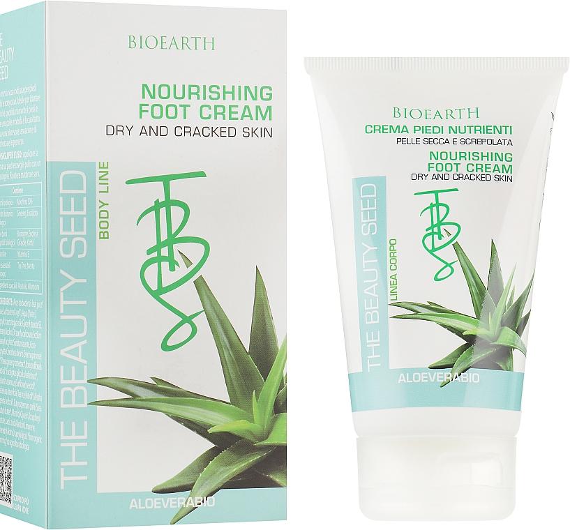 Питательный крем для ног - Bioearth The Beauty Seed Foot Cream