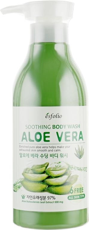 Гель для душа с алоэ - Esfolio Aloe Vera Soothing Body Wash