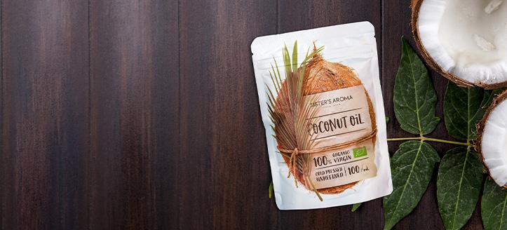 Кокосовое масло в подарок, при покупке продукции Sister's Aroma на сумму от 700 грн