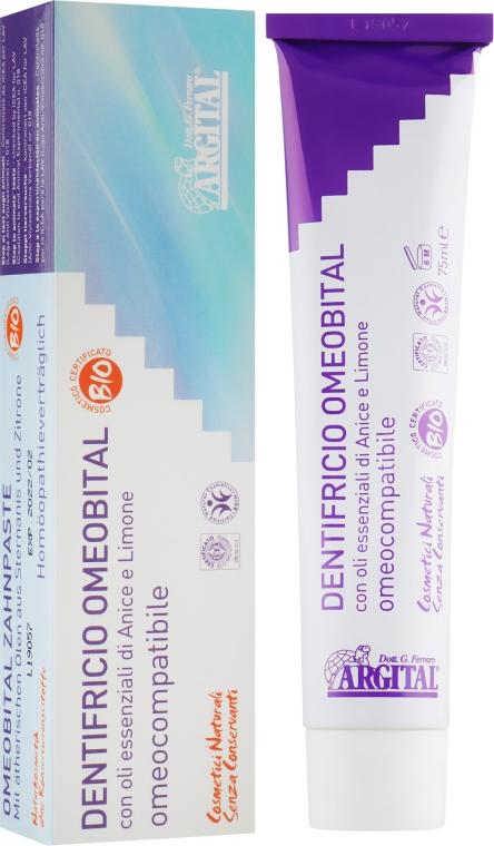 Зубна паста с анисом и лимоном - Argital Omeobital Toothpaste