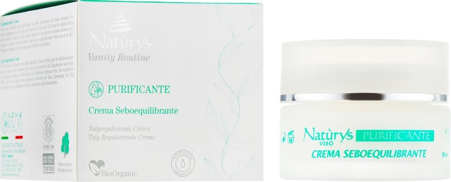 Крем для лица нормализирующий функцию сальных желез - Bema Cosmetici Naturys Vanity Sebum-balancing Cream
