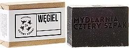 Духи, Парфюмерия, косметика Натуральное мыло с углем - Cztery Szpaki Charcoal Detox Soap