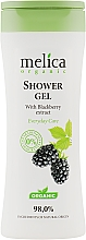 Духи, Парфюмерия, косметика Гель для душа c экстрактом ежевики - Melica Organic Shower Gel