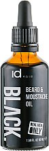 Духи, Парфюмерия, косметика Масло для ухода за бородой и усами - idHair Black Beard Oil