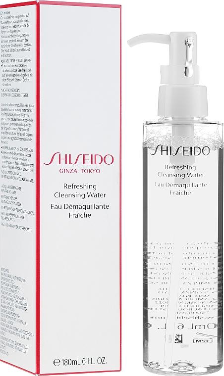 Освежающая очищающая вода - Shiseido Refreshing Cleansing Water