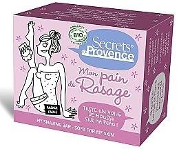 Духи, Парфюмерия, косметика Мыло для бритья для женщин - Secrets De Provence My Shaving Bar Soft My Skin