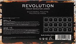 Палетка теней для век - Makeup Revolution Wild Animal — фото N8