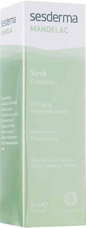 Скраб антивозрастной кожи для лица и тела - SesDerma Laboratories Mandelac Scrub Face And Body
