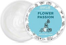 "Духи, Парфюмерия, косметика Крем-суфле для тела ""Flower Passion"" - SHAKYLAB Natural Body Cream Flower Passion"