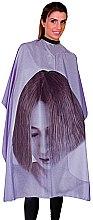 Духи, Парфюмерия, косметика Пеньюар парикмахерский на магнитной застежке, 02632/72 - Eurostil