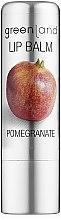 "Духи, Парфюмерия, косметика Бальзам для губ ""Гранат"" - Greenland Lip Balm Pomegranate"