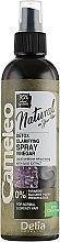 Духи, Парфюмерия, косметика Спрей для волос - Delia Cameleo Natural On Your Hair Detox Spray