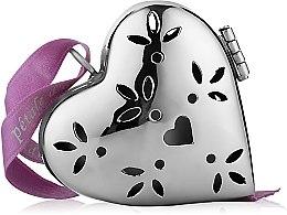 """Духи, Парфюмерия, косметика Ароматизатор в форме маленького сердца """"Шелковое перышко"""" - Collines de Provence Heart Pomander Silk Fea"""