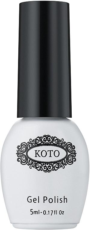Финишное покрытие для гель-лака, без липкого слоя - Koto Top Coat No Wipe