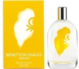 Духи, Парфюмерия, косметика Benetton Giallo Woman - Туалетная вода