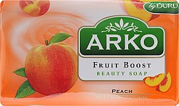 Духи, Парфюмерия, косметика Мыло - Arko Fruit Boost Beaty Soap Peach